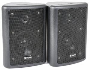 Conjunto de altavoces stereo, 2-vias, 75WNegro