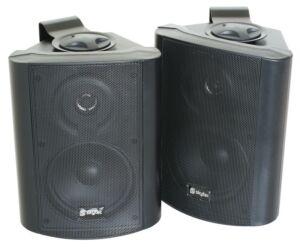 Conjunto de altavoces stereo 2vias100W Negro
