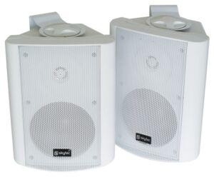 Conjunto de altavoces stereo 2-vias100W Blanco