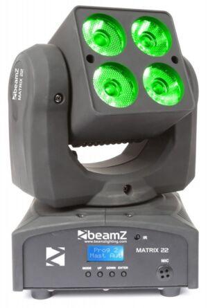 Beamz Matrix22 Cabeza Movil