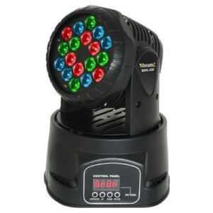 Beamz MHL108 Wash 18x3W RGB
