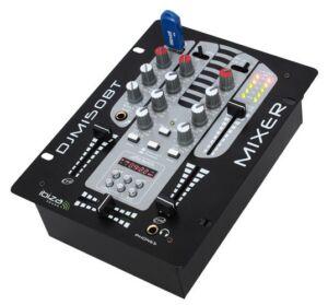 DJM150USB-BT MESA DE MEZCLAS DE 2 VIAS / 5 CANALES CON USB-MP3