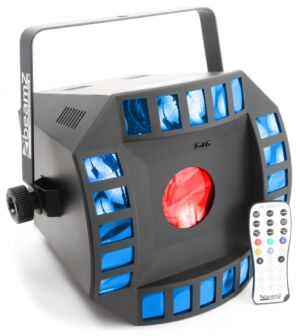 Cub4 II LED 2 x 10W Quad + 64 RGB DMX