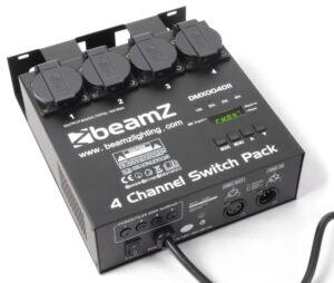 Interruptores DMX512 4 canales