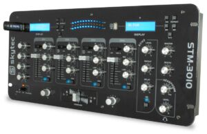STM-3010 Mezclador de 4 Ch. con USB/MP3