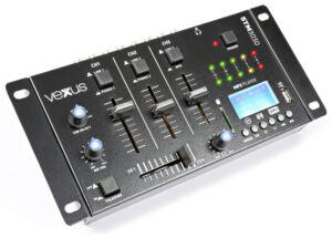 STM3030 Mezclador 4 canales USB/MP3/BT/REC