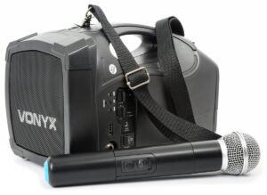 ST-010 Megafono con micro inalambrico y bateria