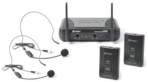 STWM712H Micro Inalambrico 2 Canales VHF doble cabeza