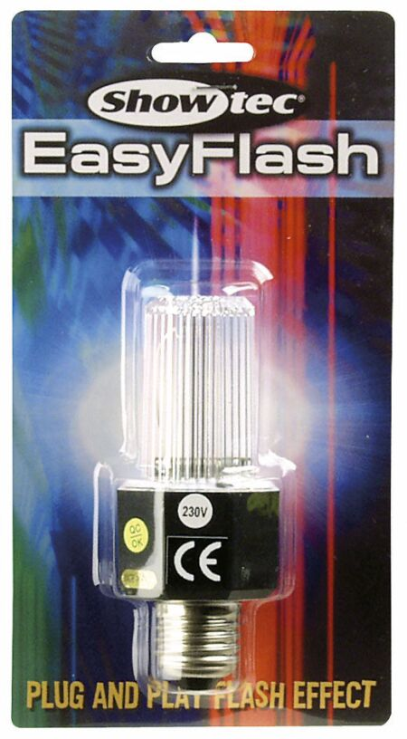 Easy Flash E27 Slimline, blanco