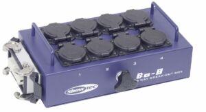 BO-8-S1 8 schukos y 1 conector de 16 clavijas