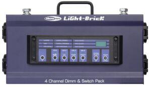 Lightbrick Conjunto regulador DMX de 4 canales