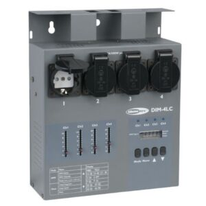 DIM-4LC. DIM-4. Dimmer portátil 4 Ch.con faders