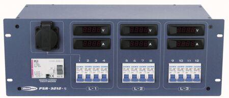 PSA-3212S Powerdistributor Con salidos schuko