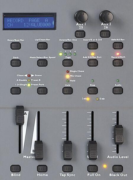 SC-2412 Mesa de luces de 24 canales