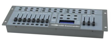 LED Commander Controlador de focos PAR con sistema LED