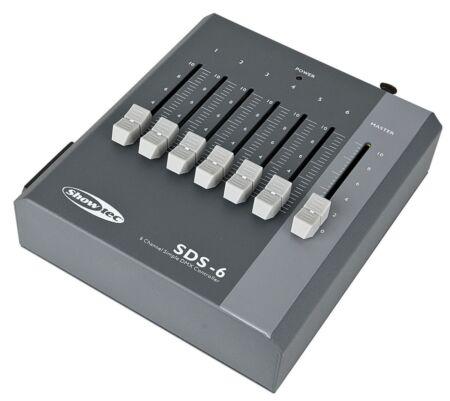 SDS-6 Mesa de mezclas de 6 canales