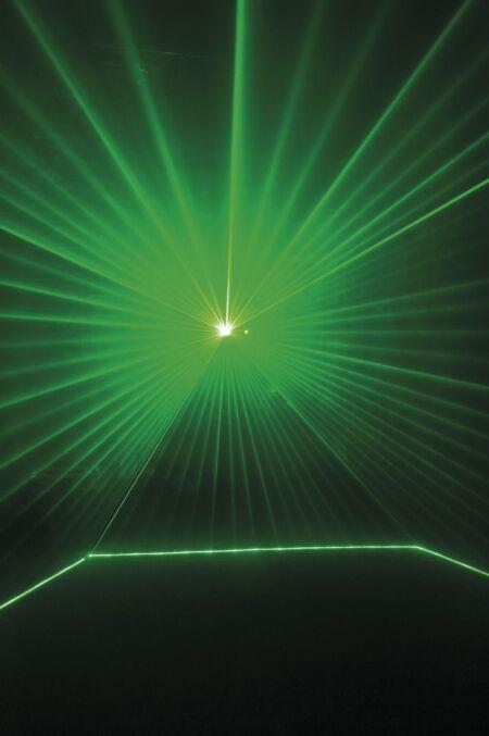Galactic G300 Láser verde de 300 mW, ILDA y DMX