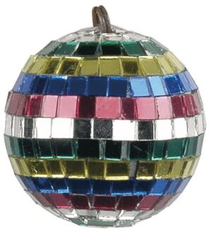 Multicoloured Mirrorball 5 cm