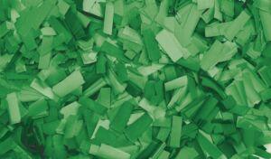 Show Confetti Rectangle 55 x 17mm Verde, 1 kg, ignífugo