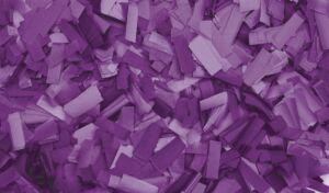 Show Confetti Rectangle 55 x 17mm Púrpura, 1 kg, ignífugo