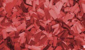 Show Confetti Rectangle 55 x 17mm Rojo, 1 kg, ignífugo