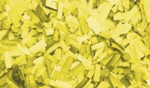 Show Confetti Rectangle 55 x 17mm Amarillo, 1 kg, ignífugo