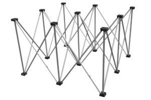 Base plegable 1x1m 60cm
