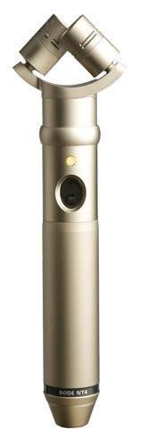 RODE NT4. micrófono de condensador estéreo X/Y para estudio