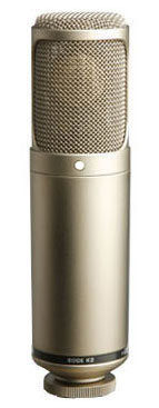 RODE K2. Micrófono de condensador a válvula con patrón variable