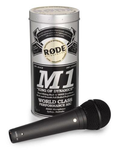 RODE M1. micrófono dinámico para aplicaciones de directo