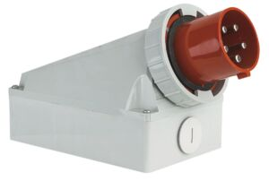 CEE Form 125A 5 Pin Wallmount Male IP67