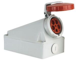 CEE Form 125A 5 Pin Wallmount Female IP67