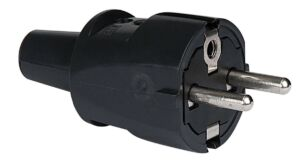 PVC Schuko Connector Male