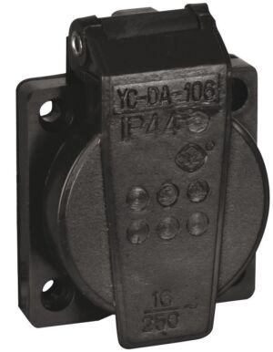 Chassis 230V/240V VDE Connector Negro