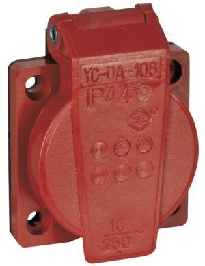 Chassis 230V/240V VDE Connector Rojo