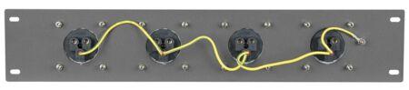 """PDP-1643 Panel de 19"""" con 4 tomas CEE 16A de 3 polos"""