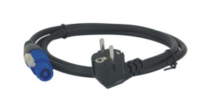 Powercable Neutrik Powercon to Schuko 1,5 m 3 x 2,5 mm2