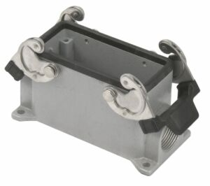 16/72 Pole Chassis Closed Bottom/Clips PG21 Gris