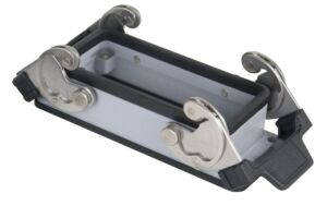 16/72 Pole Chassis Open Bottom/Clips Gris