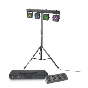 Cameo Multi PAR 2 - Compact 28 x 3 W Tri Color LED + Trípode +