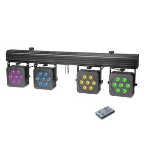 Cameo Multi PAR 3 - Compact 28 x 8 W QUAD Color LED + Maleta