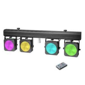 Cameo Multi PAR COB 1 - Compact 4 x 30 W RGB COB LED + Maleta