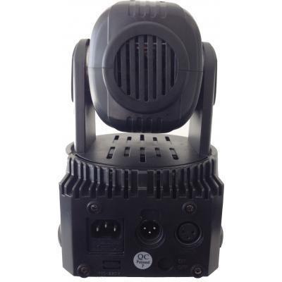 Cabeza móvil WASH Led 75W, 5x15W RGBWA
