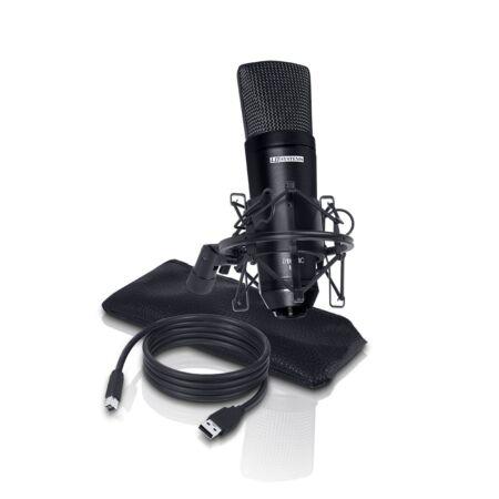 LD Systems D1013CUSB - Micrófono USB Condensador
