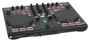 CORE Kontrol D1 Controlador MIDI de 2 platos con interfaz de