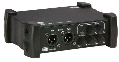 AMM-401 Mesa de mezclas activa 4 canales