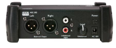 ASC-202 Convertidor estéreo de 2 vías