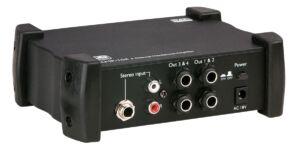AMP-104 Amplificador de auriculares de 4 canales