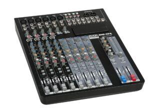 GIG-124C Mesa de mezclas de 12 canales