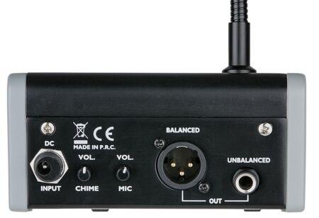 PM-160 Micrófono para anuncios con campana